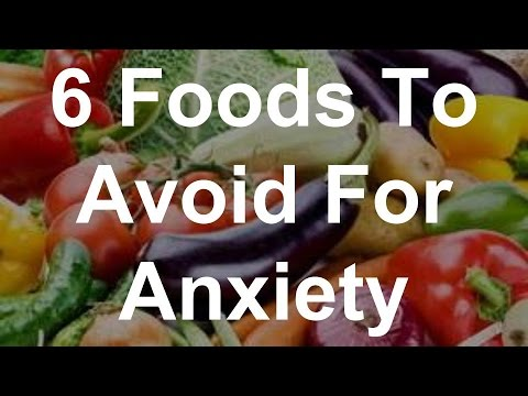 6 Foods To Avoid For Anxiety