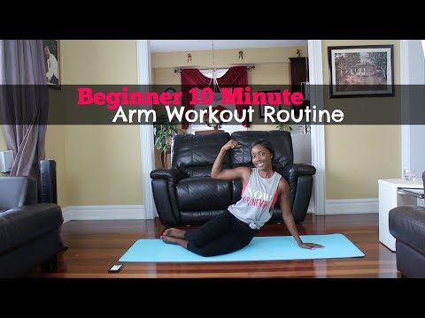 #3 |10 Minute Arm Workout Routine for Beginners (No Equipment)