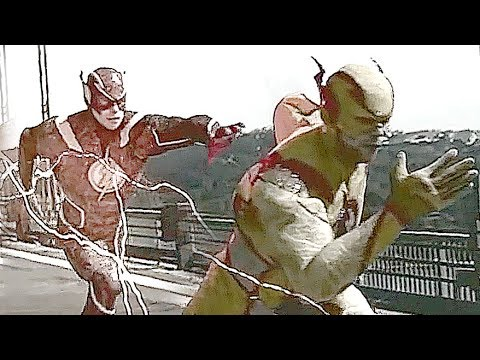 The Flash vs. Reverse Flash IN REAL LIFE!