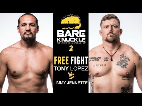 BKFC 2 FULL FIGHT: Tony Lopez vs Jimmy Jennette