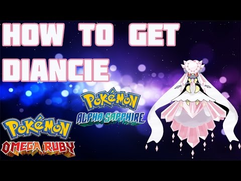 How to Get Mega Diancie in ORAS - Mega Stone Location Guide