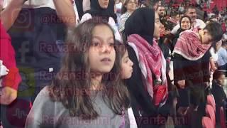 اجواء مباراة الأردن وفلسطين !! وجنون الجمهور!!!