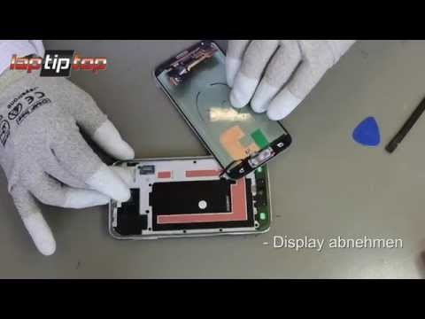 Samsung Galaxy S5 SM-G900 Display LCD Modul Einheit Reparatur Disassembly Assembly Glass Repair