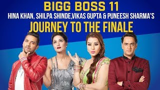 Bigg Boss 11: Hina, Vikas, Shilpa or Puneesh - who will be the ultimate WINNER? | Pinkvilla