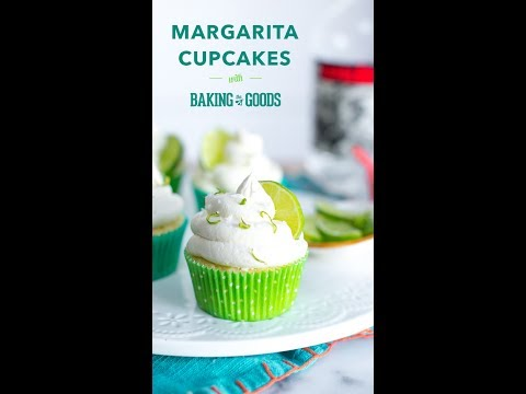 Margarita Cupcakes by Baking The Goods