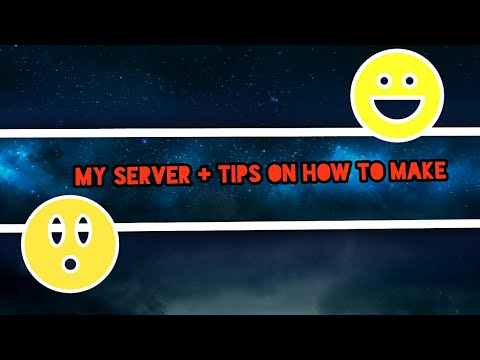 My MCPE  server + tips and how to create | Minecraft PE