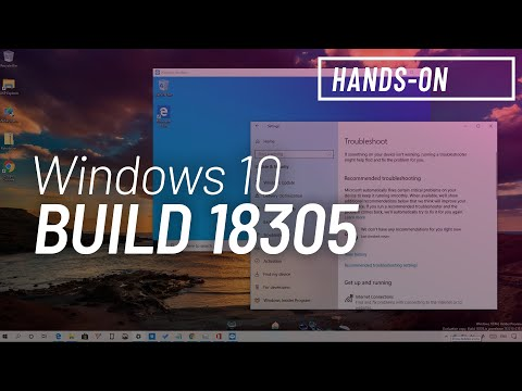 Windows 10 build 18305: Hands-on with Windows Sandbox, new Settings app, Fluent Design, more