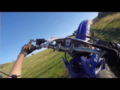 EASIEST WAY TO WHEELIE DIRTBIKE          Back yard motocross track