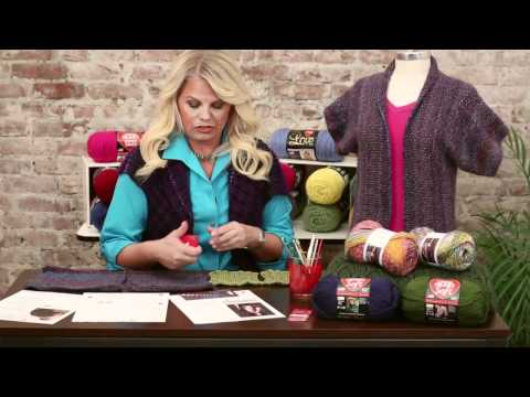 How to do a Gauge Swatch for Knitting from Red Heart