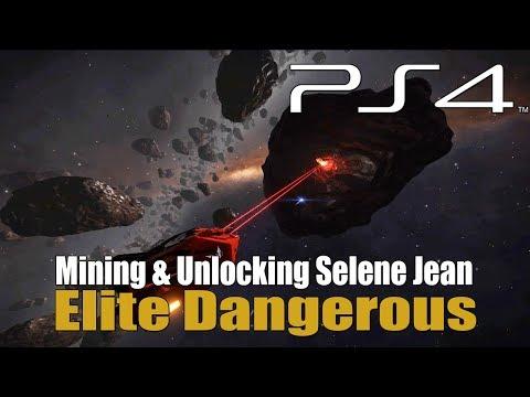 Elite Dangerous - Mining & Unlocking Selene Jean