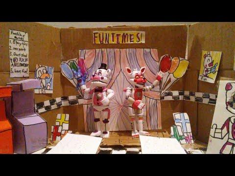 FNAF sister location custom vinyl show stages
