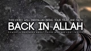 This Video Will Bring Your Faith Back in Allah (insha'Allah)