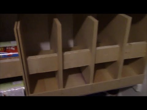 How To Build A Can Rotator For Your Pantry