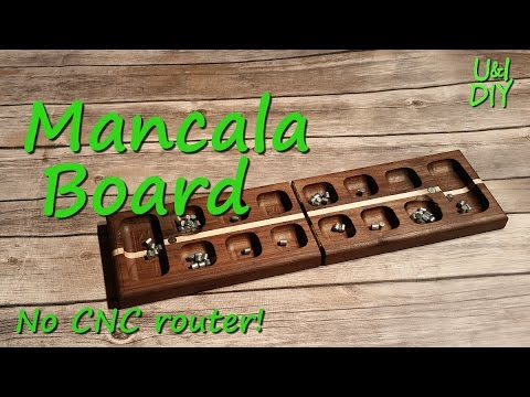 How to make a Mancala Board - DIY Tutorial