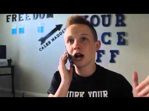 Caleb Maddix  - 14 Year Old Makes $10,000 In Under 4 Minutes!