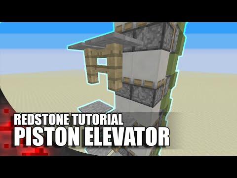 Minecraft: Pressure Plate Piston Elevator