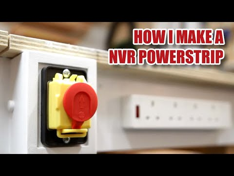 Making a NVR POWER STRIP and Why NVRs In The Workshop Are Important [76]