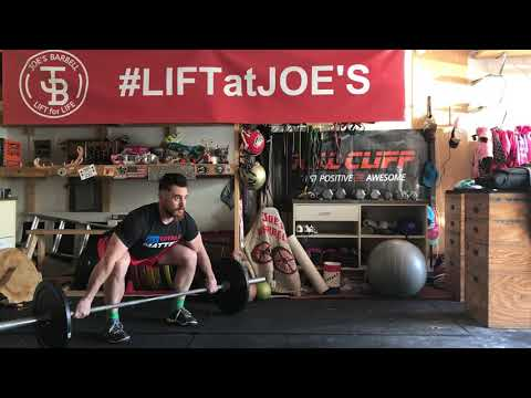 Snatch Pull to Power Position