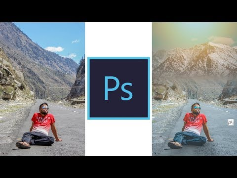 How to edit your TRAVEL PHOTOS for instagram | Change background | Rahul sharma productions