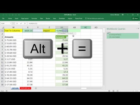 "Excel Magic Trick 1289: Remove ""USD"" from CSV File Column of Numbers (6 Examples)"