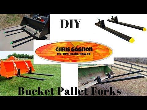 DIY Clamp On Pallet Forks