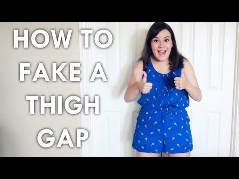 5 Ways to Fake a Thigh Gap