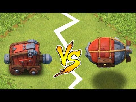 WALL WRECKER vs. BATTLE BLIMP!!