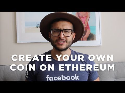 Create your own Ethereum coin token in less than 4 minutes.