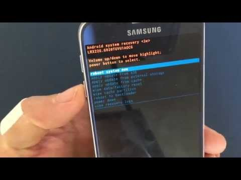 Remove Forgotten Password: Samsung Galaxy 6 / 6 Edge