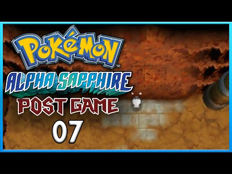 Pokemon Alpha Sapphire Post Game 7 Unlocking Regi Caves ORAS Gameplay Walkthrough Playthrough