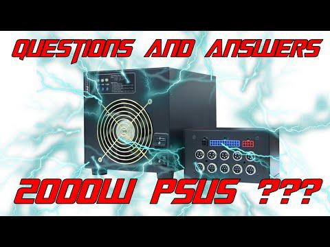 [Q&A 1] Do 2000W PSUs exist?