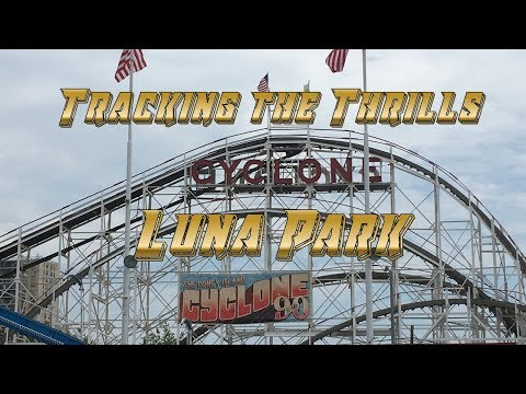 Luna Park at Coney Island Roller Coaster Review - Tracking the Thrills COASTER-net