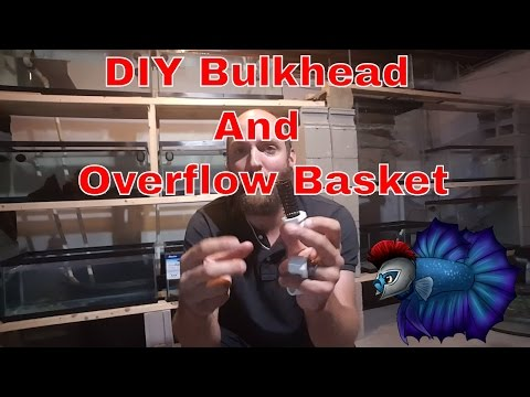 How To Build A Overflow Basket For Aquarium or Fish Tank Sump Systems