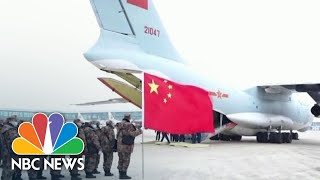 New Video Shows China's 'Wartime Controls' To Fight Coronavirus Outbreak | NBC Nightly News