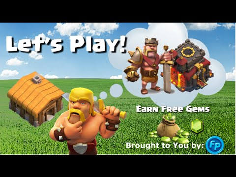 Clash of Clans FREE Gems - Safe and Trusted! Let's Play Clash of Clans!