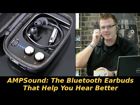 AMPSound: The Bluetooth Earbuds That Help You Hear Better