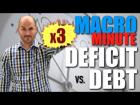 Macro Minute -- Deficit v. Debt