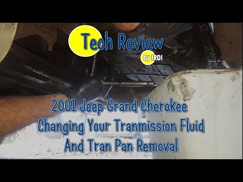 2001 Jeep Grand Cherokee Transmission  Fluid and Filter Change Part 1