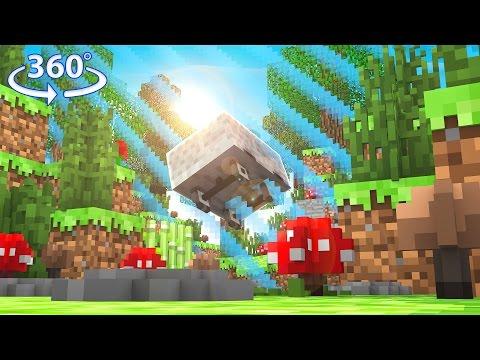 Infinite 360° Minecraft Railway