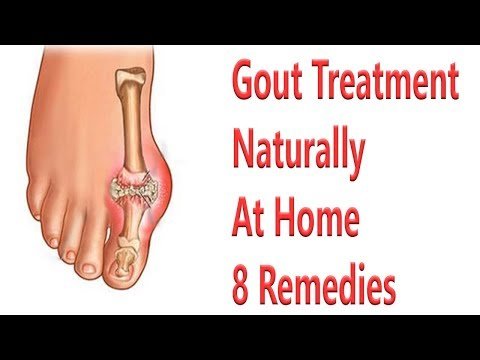 8 Remedies For Gout Treatment Naturally At Home