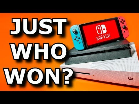 Which Game Console WON 2017? Nintendo Switch, Xbox One, or PS4?
