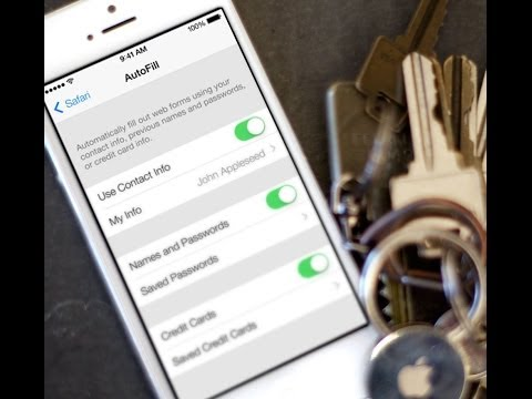 How to turn on (or turn off) iCloud Keychain on iOS 7