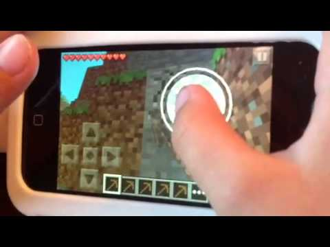 How to Get Iron on Minecraft PE part 1 Pickaxe