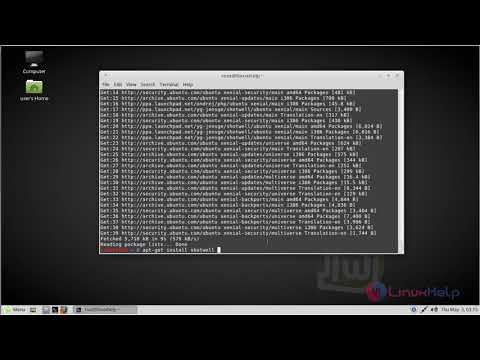 How to install Shotwell 0.28.1 on Linux Mint 18.03