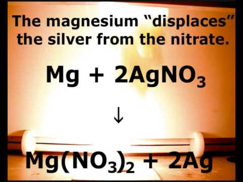 Magnesium & Silver Nitrate