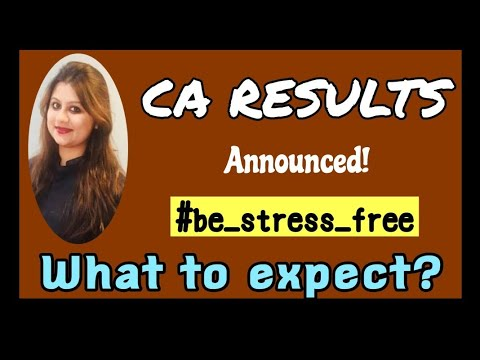 Nervous before CA results?Watch this