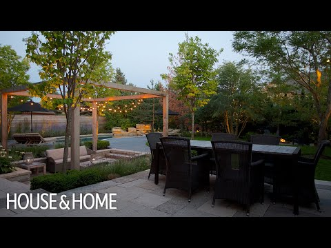 Exterior Design — How To Add Cottage Style To Your Suburban Backyard