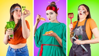 Types of Girls in the Kitchen!
