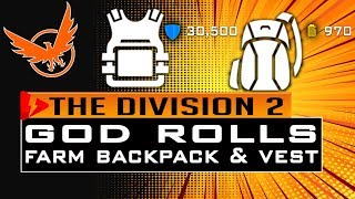 the division 2 high end backpack Videos - 9tube tv