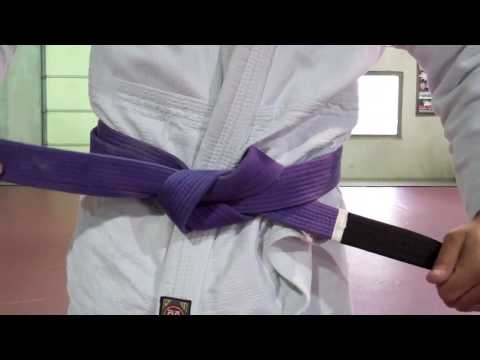 How To Tie a Jiu Jitsu Gi Belt